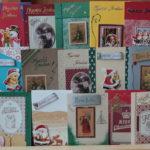 Käsityöliike Nukkerista käsintehtyjä kortteja elämän eri tilanteisiin